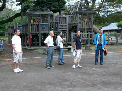 掛塚屋台囃子保存会来訪